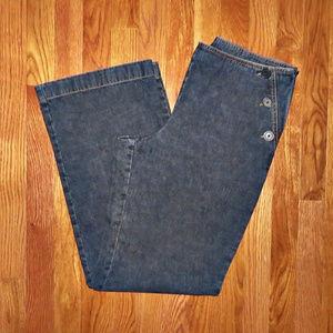 Ann Taylor LOFT Nautical Front Jeans - Size 8